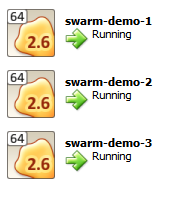 Swarm Virtual Machines