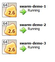 Swarm Virtual Machines